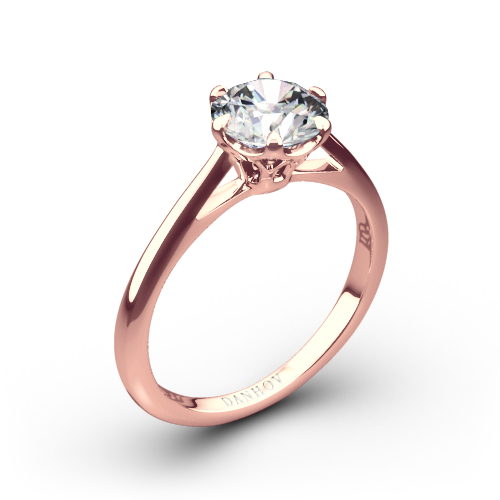 Danhov CL117 Classico Solitaire Engagement Ring