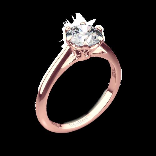 Danhov CL117 Classico Solitaire Engagement Ring