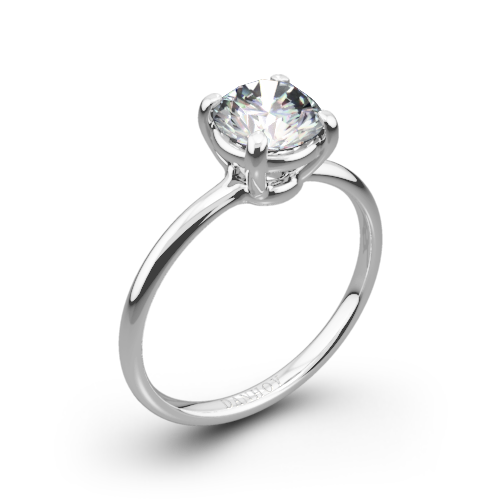 Danhov CL130 Classico Solitaire Engagement Ring