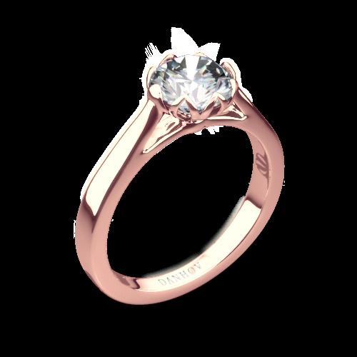Danhov CL140 Classico Solitaire Engagement Ring