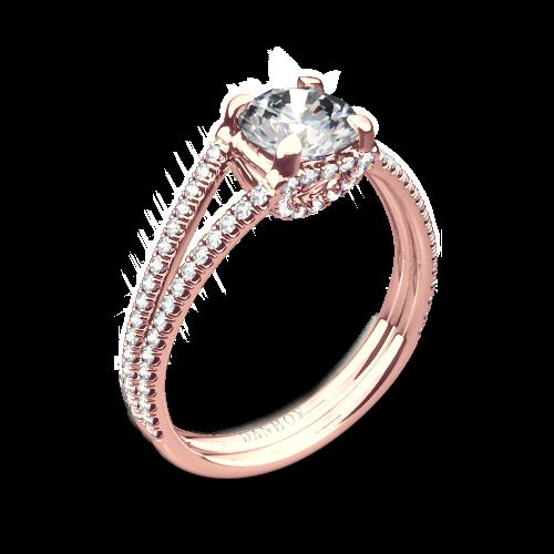 Danhov LE116 Per Lei Diamond Engagement Ring