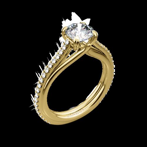 Danhov UE111 Unito Diamond Engagement Ring
