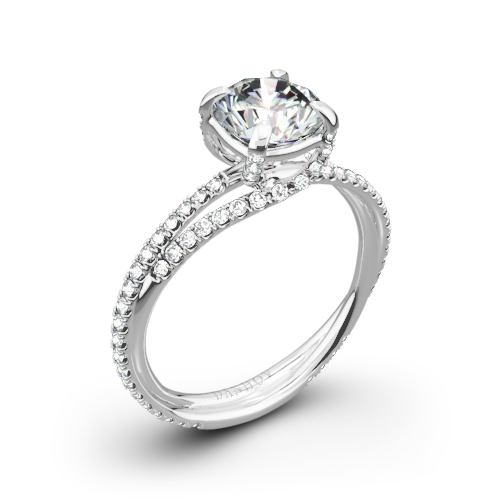 Danhov ZE101 Eleganza Diamond Engagement Ring