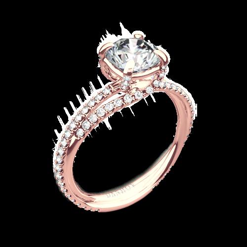 Danhov ZE101 Eleganza Diamond Engagement Ring