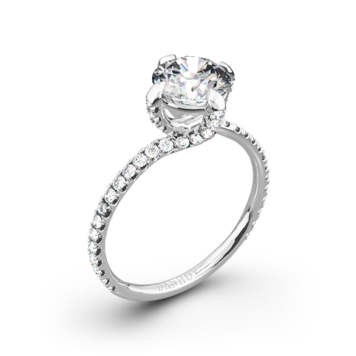 Danhov ZE138 Eleganza Diamond Engagement Ring