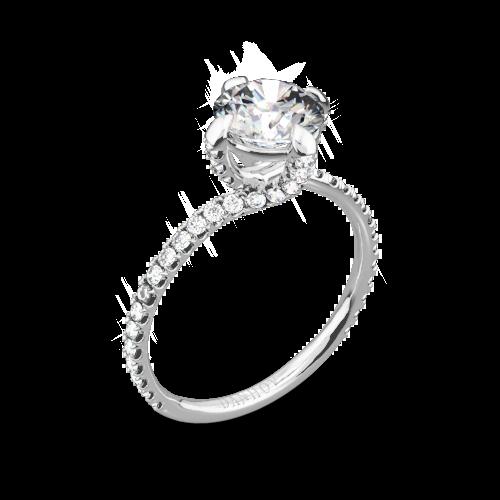 Danhov ZE138 Eleganza Diamond Engagement Ring
