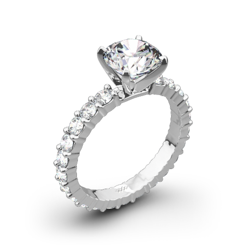 Diamonds for an Eternity Diamond Engagement Ring