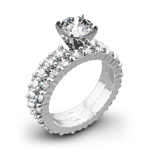 Diamonds for an Eternity Diamond Wedding Set