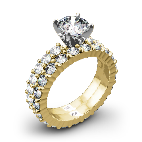 Diamonds for an Eternity Diamond Wedding Set