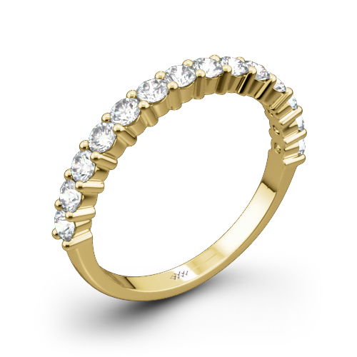 Diamonds for an Eternity Half Diamond Wedding Ring