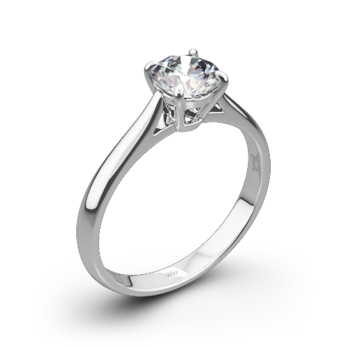 marie claw diamond fine natalie handmade signature engagement solitaire pin rings