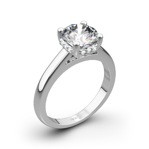 Full of Surprises Solitaire Engagement Ring