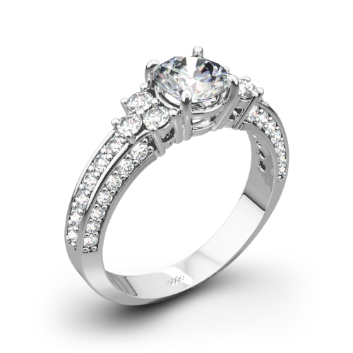 Imperial Diamond Engagement Ring