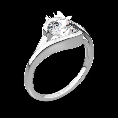 Iris Solitaire Engagement Ring