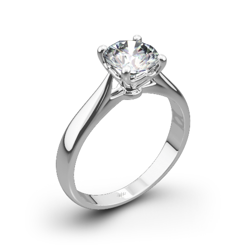 Legato Sleek Line Diamond Solitaire 728