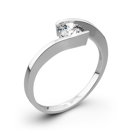 Lilly Solitaire Engagement Ring