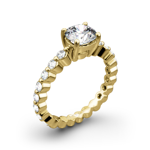 Ritani 1RZ1888 Shared-Prong Diamond Engagement Ring
