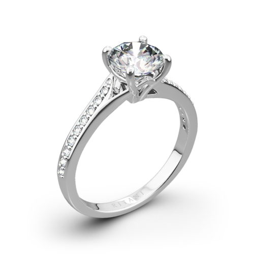 ring pav pave diamond engagement b rings round modern cut
