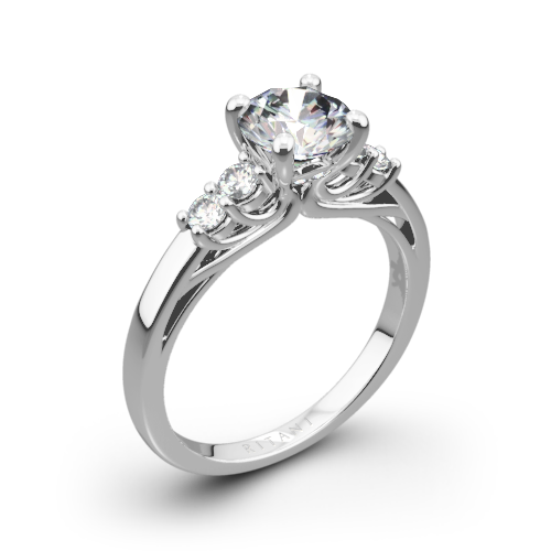 Ritani 1RZ2716 Trellis Five-Stone Diamond Engagement Ring