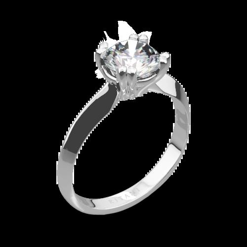 Ritani 1RZ7262 Knife-Edge Tulip Solitaire Engagement Ring