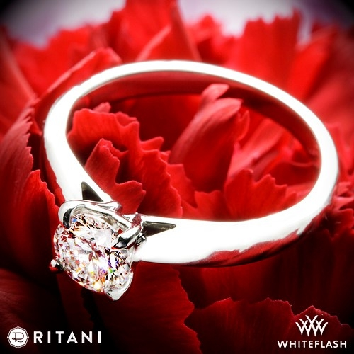 Ritani 1RZ7241 Solitaire Engagement Ring