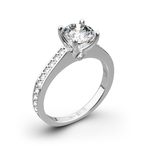 Scarlet Diamond Engagement Ring