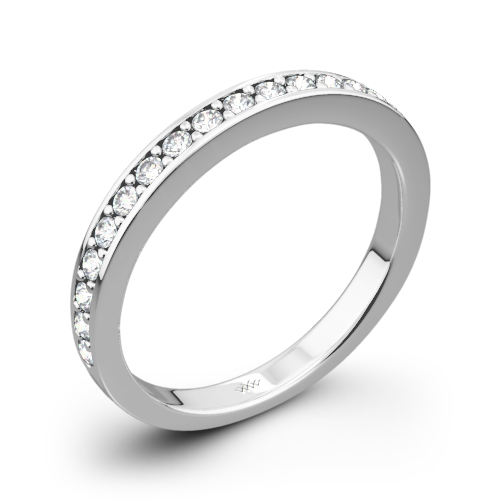 Scarlet Diamond Wedding Ring