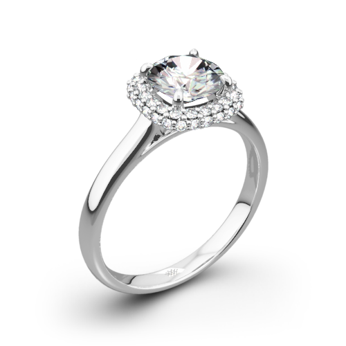 Selene Solitaire Engagement Ring