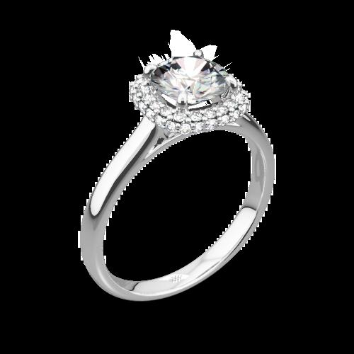 Selene Solitaire Engagement Ring