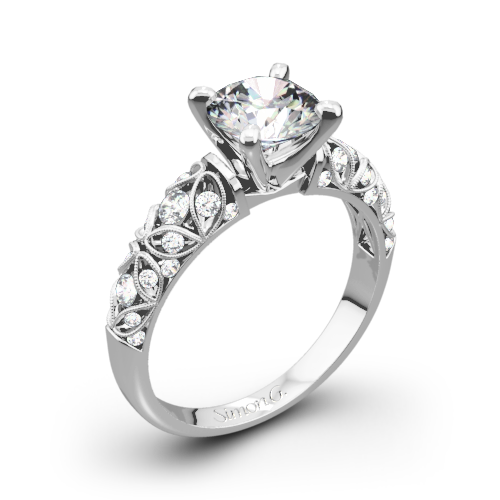 orospot platinum wedding modern assymetrical ring bypass product rings diamond com solitaire shank engagement delicate