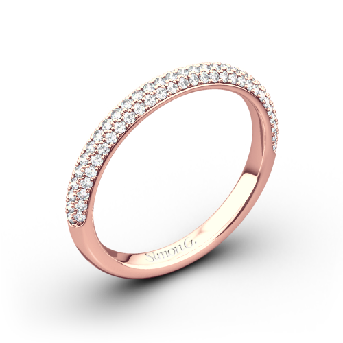 Simon G. LP1935-D Delicate Diamond Wedding Ring
