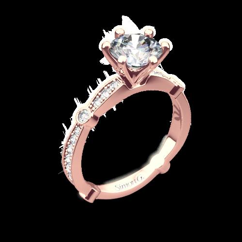 Simon G. MR1546 Delicate Diamond Engagement Ring
