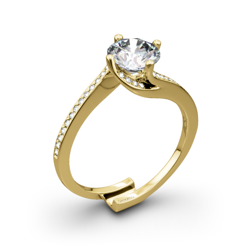 Simon G. MR1939 Fabled Diamond Engagement Ring