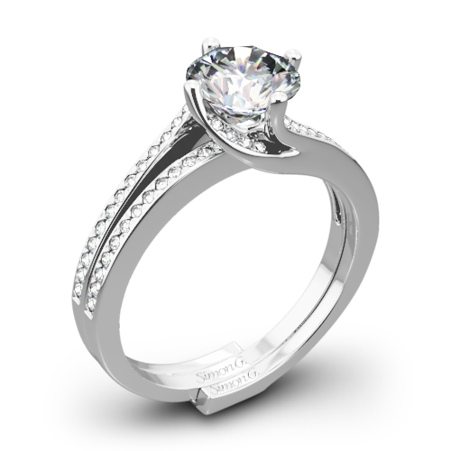 Simon G. MR1939 Fabled Diamond Wedding Set
