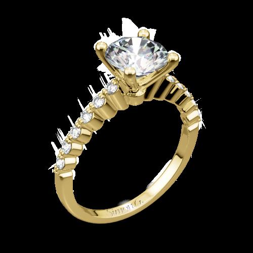 Simon G. MR2173-D Delicate Diamond Engagement Ring