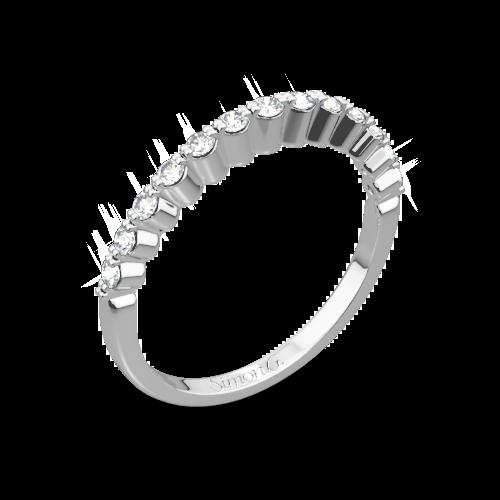 Simon G. MR2173-D Delicate Diamond Wedding Ring