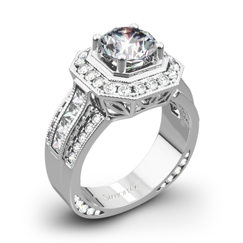 Simon G. NR109 Passion Diamond Engagement Ring