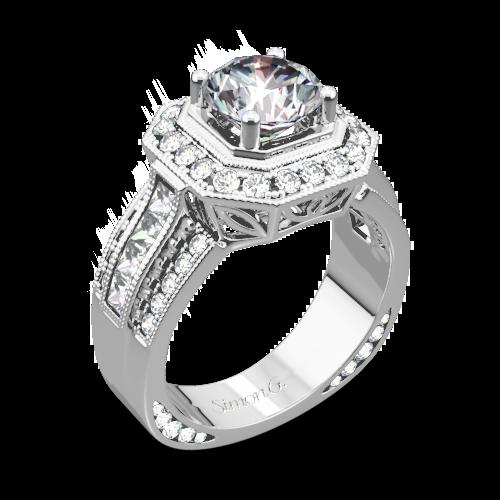 Simon G. NR109 Passion Diamond Engagement Ring