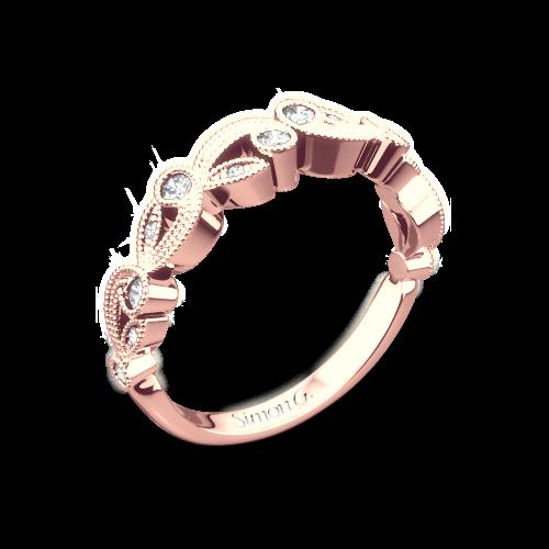 Simon G. TR473 Duchess Diamond Wedding Ring