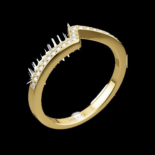 Simon G. MR1609 Caviar Diamond Wedding Ring