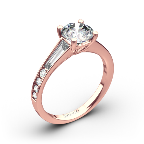 Simon G. MR2220 Duchess Diamond Engagement Ring
