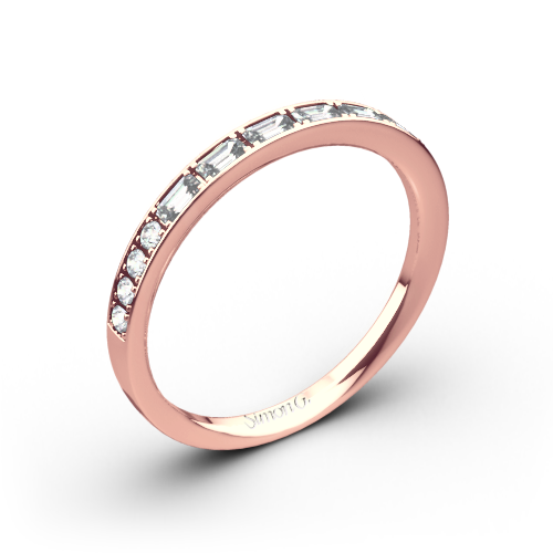 Simon G. MR2220 Duchess Diamond Wedding Ring