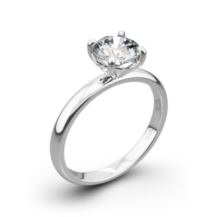 Vatche 1532 Charis Solitaire Engagement Ring