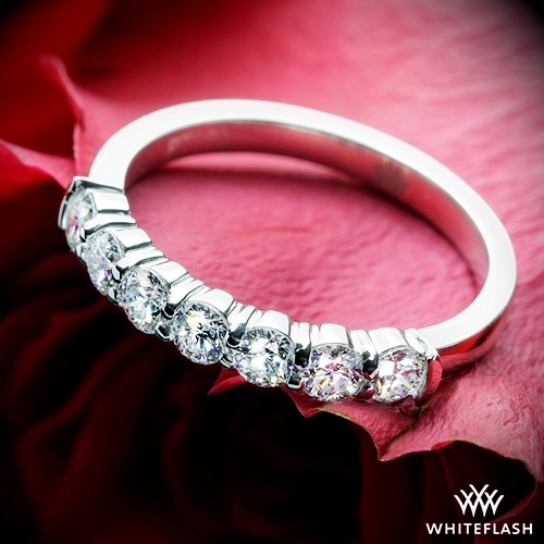 0 50ctw 7 Stone Shared G Diamond Wedding Ring