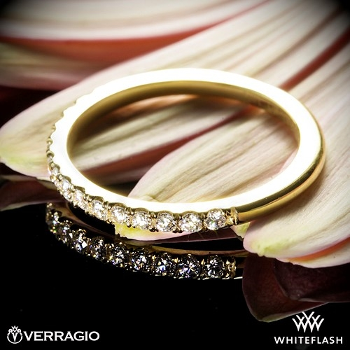 Verragio Bead Set Diamond Wedding Ring