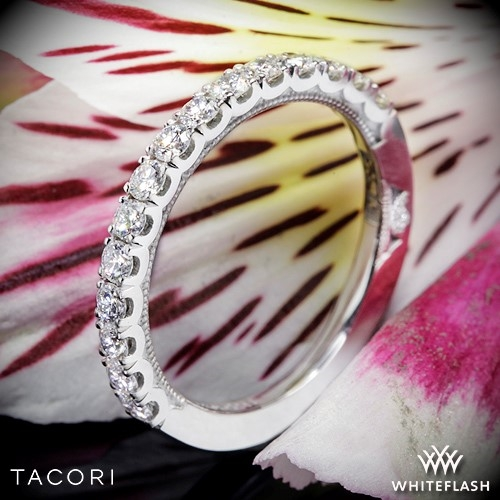 Tacori 33-2.5 Clean Crescent French Cut Diamond Wedding Ring