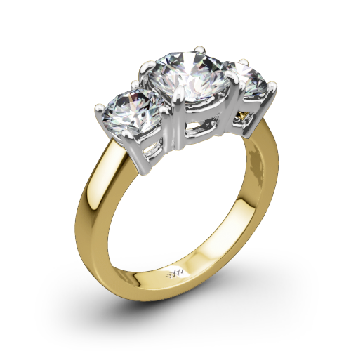 w three halo ring stone diamond qrtr ri engagement