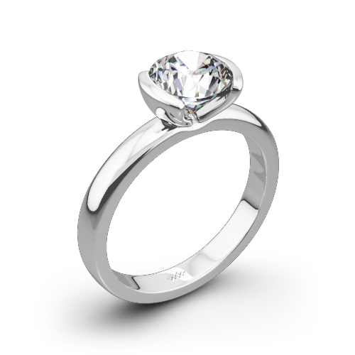 'True Love' Solitaire Engagement Ring