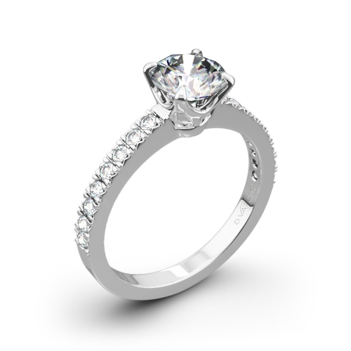 Vatche 1003 5th Ave Pave Diamond Engagement Ring