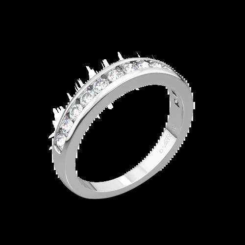 Vatche 1020 Channel Diamond Wedding Ring